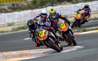 ¡Doblete para el piloto Junior Daniel Torre en el circuito de Almería!